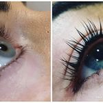 before and after eyelash treatment