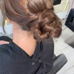woman with elegant updo